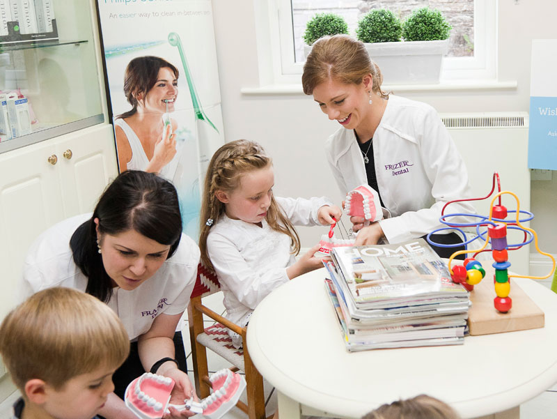 Children's Dentist at Frazer Dental Care in Kingscourt